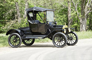 Pictures Ford Retro Black 1915 Model T Runabout Cars