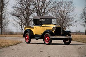 Fotos Ford Antik Gelb 1931 Model A Roadster Pickup Autos