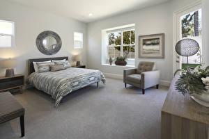 Image Interior Design Bedroom Bed Armchair
