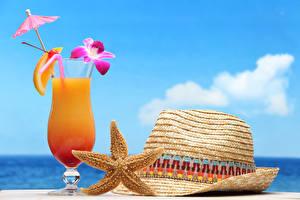 Bilder Fruchtsaft Orchideen Weinglas Regenschirm Der Hut Lebensmittel