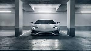 Hintergrundbilder Lamborghini Vorne Weiß 2018 Novitec Torado Aventador S Autos
