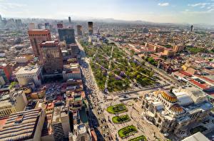 Sfondi desktop Messico La casa Megalopoli Via della città Mexico Città