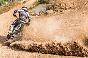 Pictures Motocross Motion Motorcycles