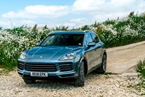 Wallpapers Porsche Metallic 2018 Cayenne S auto