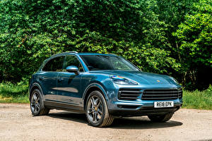 Pictures Porsche Metallic 2018 Cayenne S Cars
