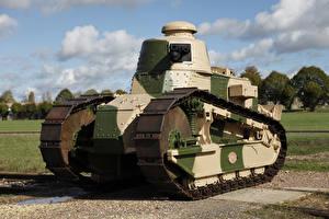 Hintergrundbilder Antik Panzer 1917-18 Renault FT-17 Heer