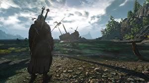 Fotos The Witcher 3: Wild Hunt Krieger Geralt von Rivia Schwert
