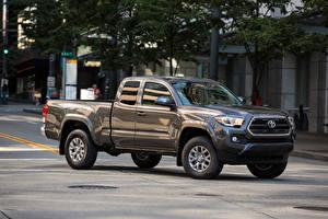 Fotos Toyota Pick-up Metallisch 2016 Tacoma SR5