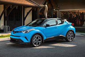 Pictures Toyota Light Blue Metallic 2018 C-HR Cars