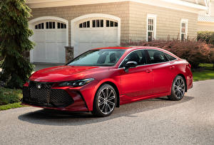 Hintergrundbilder Toyota Rot 2019 Avalon XSE automobil