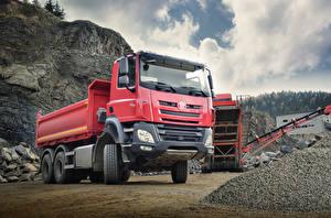 Wallpaper Trucks Red  Cars