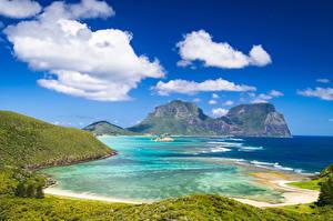 Fotos Australien Küste Felsen Lord Howe Island Natur