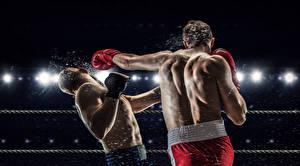 Hintergrundbilder Boxen Mann 2 Rücken Schlag sportliches
