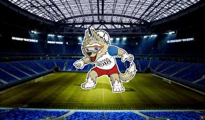 Images Footbal Stadium World Cup 2018 Mascotte