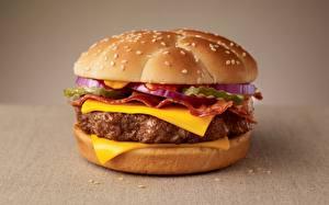 Fotos Burger Hautnah Käse