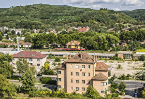 Picture Hungary Building Hill Salgotarjan