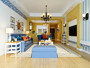 Fotos Innenarchitektur Design Wohnzimmer Sofa Teppich Kronleuchter