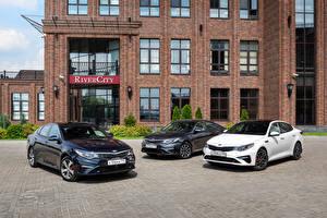 Fotos KIA Drei 3 Metallisch 2015-19 Optima Sedan Autos