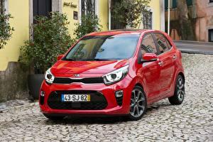 Bilder KIA Rot Metallisch 2017 Picanto GT Line Worldwide Autos