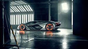 Hintergrundbilder Lamborghini Seitlich Terzo Millennio Autos