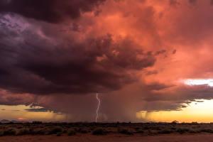 Bilder Blitz Wolke Gewitterwolke