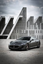 Wallpaper Maserati Pininfarina Grey Metallic 2013-17 GranTurismo MC Stradale Worldwide