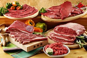 Bilder Fleischwaren Gemüse Schneidebrett Lebensmittel