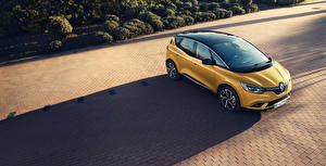 Papel de Parede Desktop Renault Amarelo 2016-18 Scenic Carros
