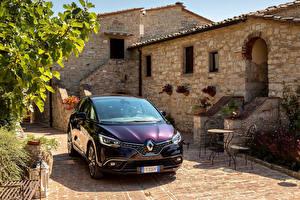 Bilder Renault Violett Metallisch Vorne 2017-18 Scenic Initiale Paris Worldwide Autos