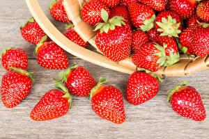 Hintergrundbilder Erdbeeren Großansicht Lebensmittel