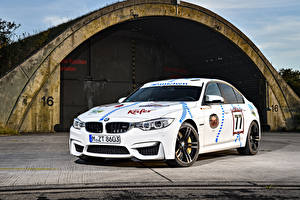 Wallpaper BMW Tuning White  Cars