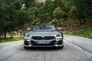 Fonds d'écran BMW Devant Roadster Mouvement Z4 M40i 2019 G29 Voitures