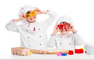 Hintergrundbilder Junge Zwei Küchenchef Uniform Herz Kleine Sterne Kinder