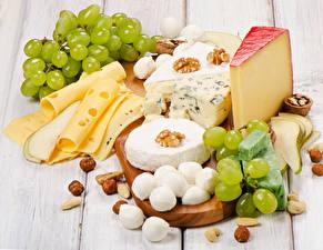 Hintergrundbilder Käse Schalenobst Weintraube Bretter Geschnittene