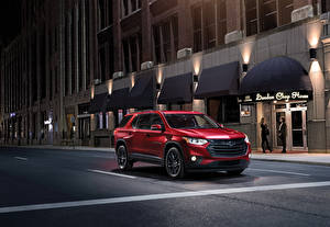 Picture Chevrolet Red 2018 Traverse RS automobile