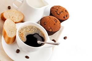 Bilder Kaffee Brot Keks Muffin Tasse Getreide