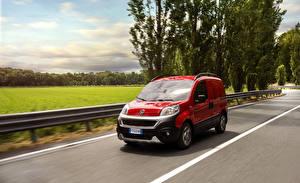 Wallpaper Fiat Red Metallic Riding 2016 Fiorino Adventure auto