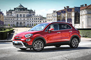 Pictures Fiat Red Metallic 2018 500X Cross automobile