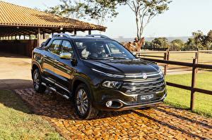 Wallpapers Fiat Metallic Pickup 2018 Toro Ranch Cars