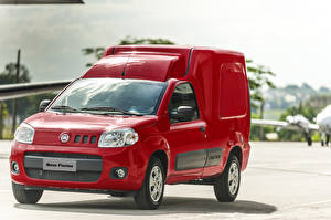 Picture Fiat Red Metallic  Cars