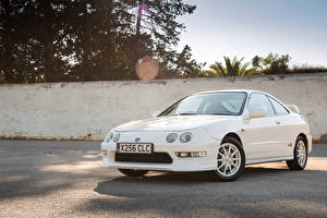 Pictures Honda White Metallic 1997-2001 Integra Type-R automobile