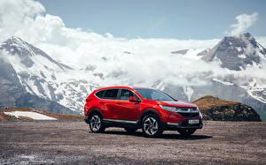 Images Honda Red Metallic 2018 CR-V automobile