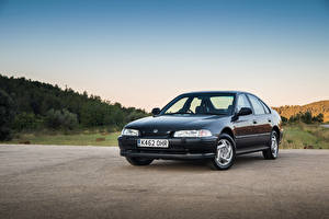 Hintergrundbilder Honda Retro Metallisch 1993-96 Accord Sedan Autos