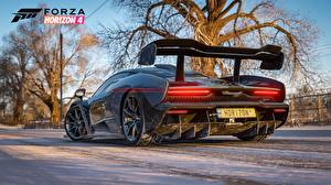 Fotos McLaren Hinten Senna E3 2018  Forza Horizon 4 Spiele 3D-Grafik Autos