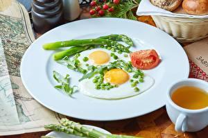 Hintergrundbilder Teller Spiegelei Frühstück Lebensmittel