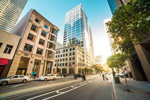 Pictures Roads Houses USA Street San Francisco Cities