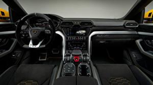 Hintergrundbilder Salons Lamborghini Lenkrad 2018 Urus