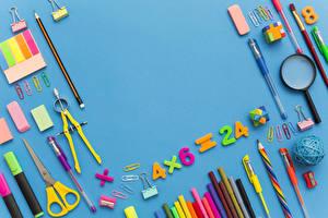 Picture School Colored background Pencils Ballpoint pen