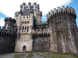 Wallpapers Spain Castles Butron Castle Cities