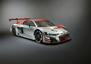 Pictures Audi Tuning Silver color R8 LMS 2019 automobile